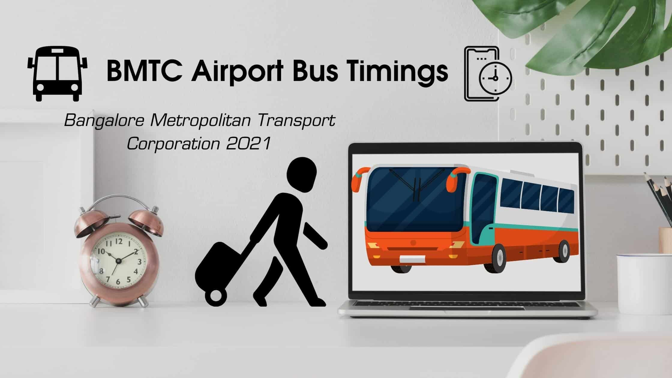BMTC Airport Bus Timings
