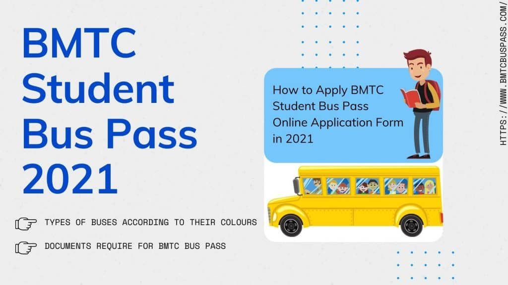 BMTC Student Bus Pass Online Application Form